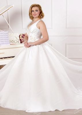 Элегантное пышное свадебное платье MJ168