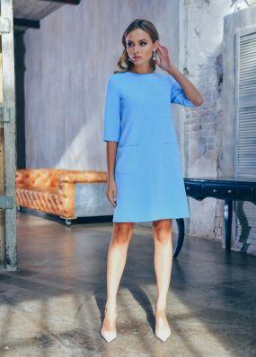 Прямое короткое платье MR049B