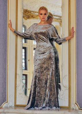 Длинное барахтное платье MT019B