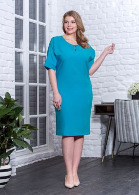 Платье-футляр ниже колена N173-03-91