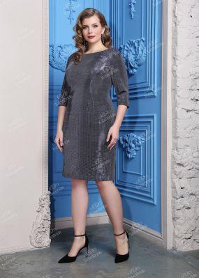 Коктейльное платье с V-образным вырезом ND116B