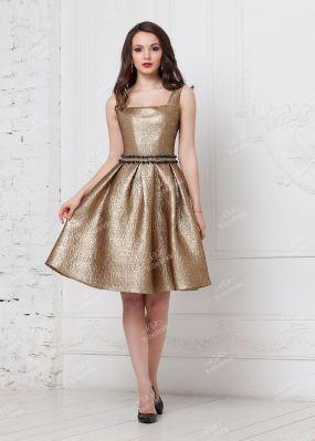 Короткое вечернее платье с открытой спиной ND157B