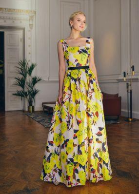 Платье-сарафан с открытой спиной ND236B