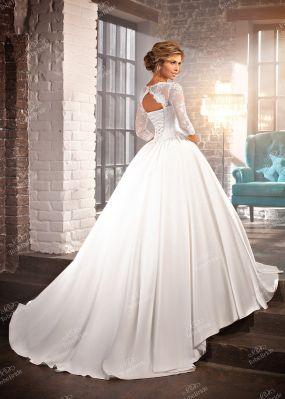 Свадебное платье с ручной отделкой NW001