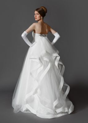 Эксклюзивное свадебное платье PA003