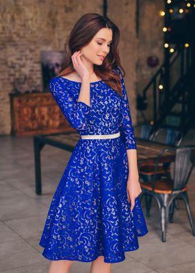 Красивое кружевное платье RB065B