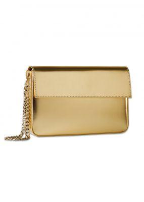 Кожаный клатч золотого цвета RDB-001-005