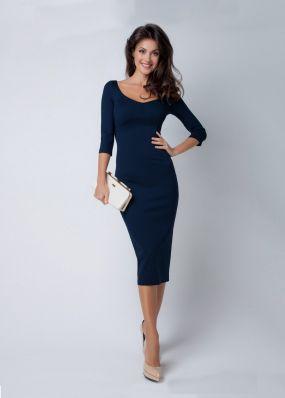 Нарядное платье с декольте S160201S