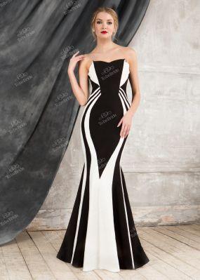 Вечернее платье фасона русалка SE002B