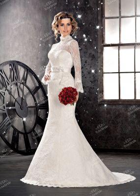 Длинное свадебное платье SL0111