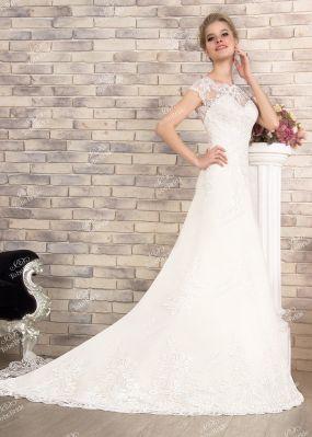 Вышитое свадебное платье SL0177