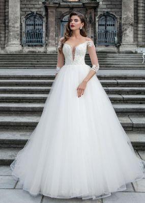 Пышное свадебное платье SOL019*