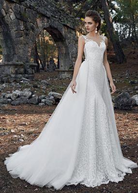 Свадебное платье-трансформер SOL031