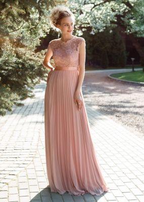 Длинное платье с пайетками ST097B