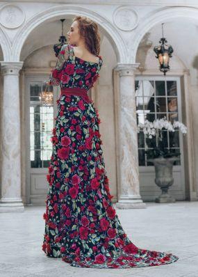 Вечернее платье в пол TB071B