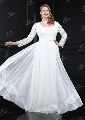 Свадебное платье для полных TB072