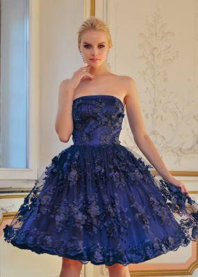 Коктейльное платье с пышной юбкой TB119B