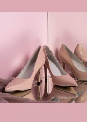 Классические туфли цвета пыльной розы TBB004SH