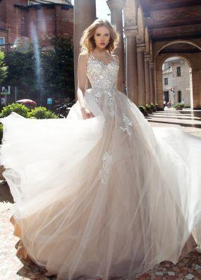 Пышное свадебное платье из фатина ZAR004