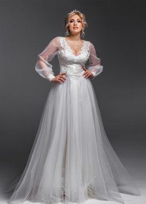Свадебное платье из фатина Aria Di Lusso ZDL001