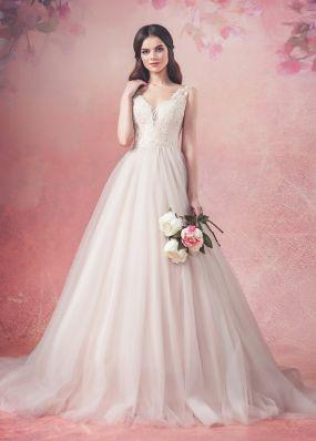 Свадебное платье с кружевным корсетом Aria Di Lusso ZDL014