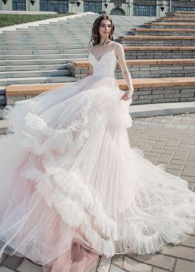 Дизайнерское свадебное платье Aria Di Lusso ZDL015