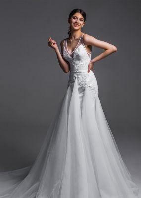 Облегающее свадебное платье Aria Di Lusso ZDL016