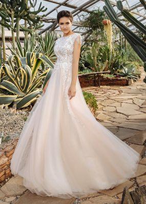 Свадебное платье с вышивкой ZIS022