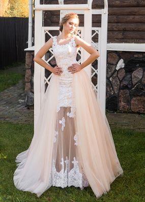 Свадебное платье-трансформер ZRN015