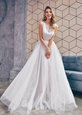 Двойное свадебное платье ZTB008