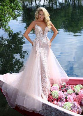 Элегантное платье-русалка TARIK EDIZ ZTZ036