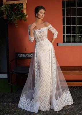 Прямое свадебное платье ZTZ044