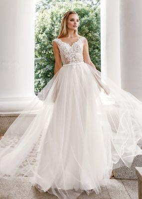 Свадебное платье с вышивкой ZVT052