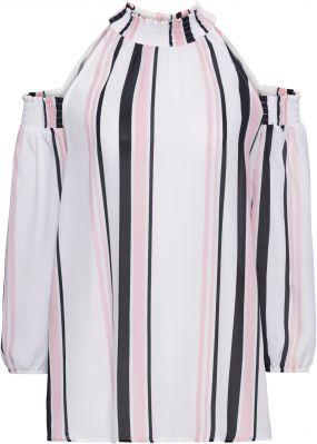 Блузка с вырезами