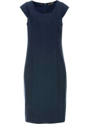 Платье-футляр из смесовой шерсти