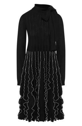 Шерстяное платье Valentino