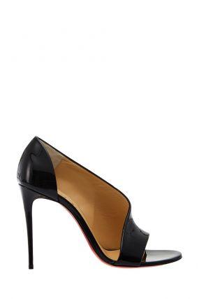 Черные лакированные туфли Phoebe 100