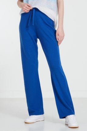 Синие брюки-джоггеры