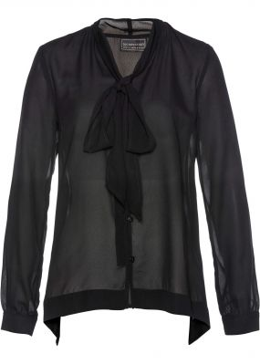 Блузка с лентами для завязыания