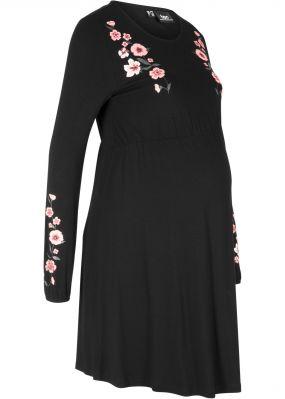 Платье трикотажное для беременных