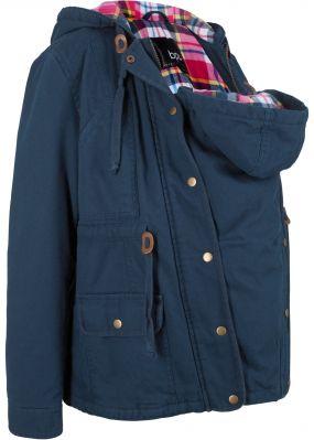 Куртка для будущих мам со вставкой для малыша