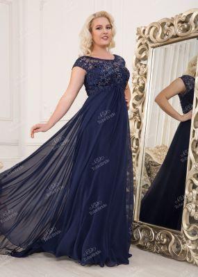 Шифоновое платье в пол CH0028B