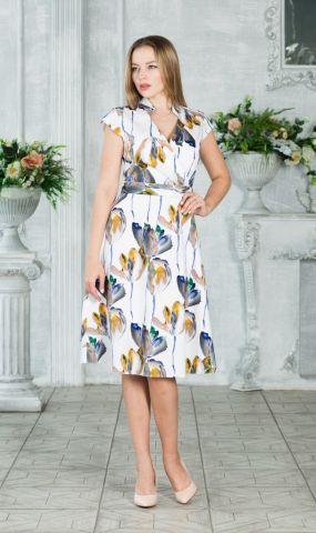 Платье для летних прогулок из хлопка