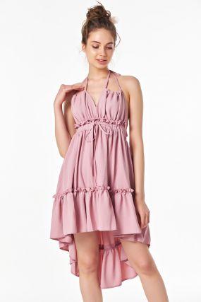 Неповторимое летнее платье с открытой спиной