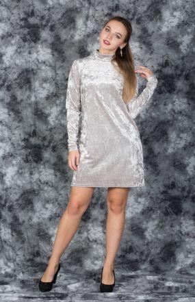 Платье вечернее с вырезом на спине бархат