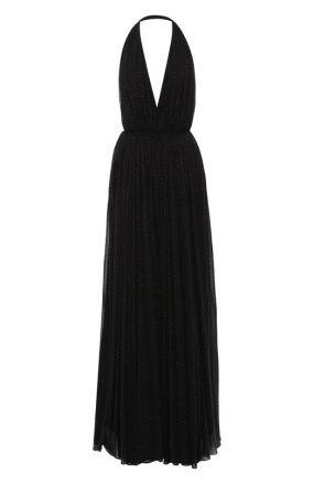 Платье-макси Saint Laurent