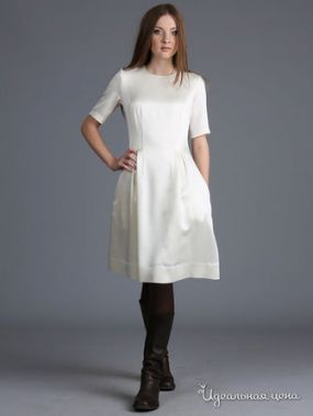 Платье ЭНСО, цвет молочный