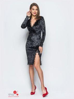 Платье Модный остров, цвет черный