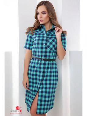 Платье MarSe, цвет бирюзовый