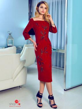 Платье Bezko, цвет бордовый